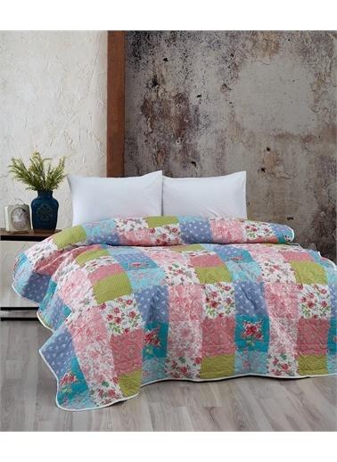 Komfort Home Çift Kişilik Çok Amaçlı Örtü - Pike 200x220 CM / D12 Renkli